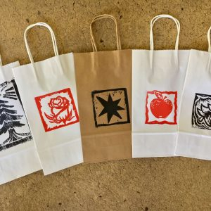 Photo of themed paper carriers